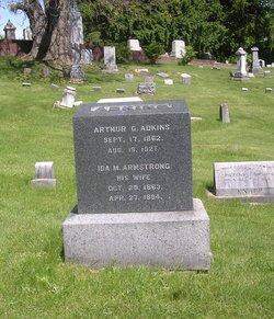 Ida M <i>Armstrong</i> Adkins