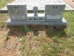 Troy Dee Bone Acklin