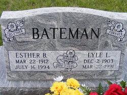 Esther B. <i>Graham</i> Bateman