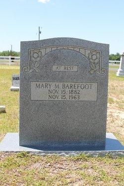 Mary M <i>Thornton</i> Barefoot
