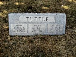 Agnes T <i>Winslow</i> Tuttle