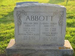 Sarah Jane <i>Tardy</i> Abbott