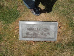Willietta <i>Carpenter</i> Alston