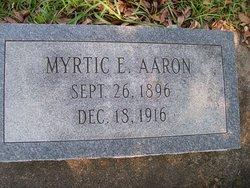 Myrtice Aaron