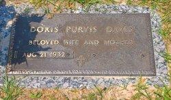 Doris <i>Purvis</i> Davis
