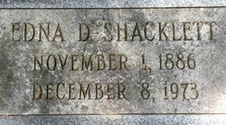 Edna D. Shacklett