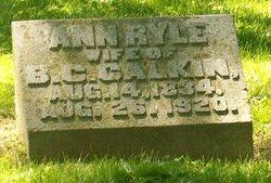 Ann <i>Ryle</i> Calkin