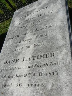 Sarah <i>Geddes</i> Latimer