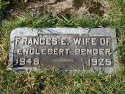 Frances Elmira <i>Luther</i> Bender