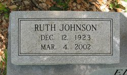 Ruth <i>Johnson</i> Elley