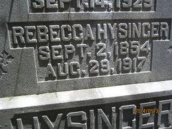 Rebecca <i>Owens</i> Hysinger
