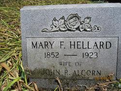 Mary Frances <i>Hellard</i> Alcorn