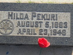 Hilda <i>Wickman</i> Pekuri