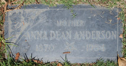 Anna Dean <i>Barber</i> Anderson