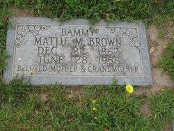 Mattie M <i>Sharp</i> Brown