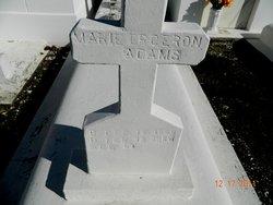 Augustine Marie <i>Orgeron</i> Adams