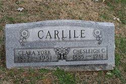 Clara <i>York</i> Carlile