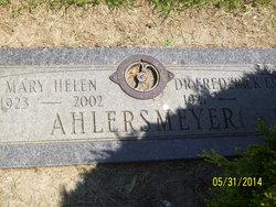 Mary Helen <i>Johnson</i> Ahlersmeyer