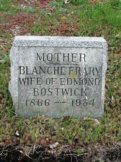 Blanche E. <i>Frary</i> Bostwick
