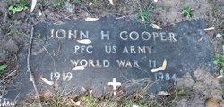PFC John H. Cooper
