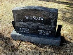 Elizabeth <i>Newell</i> Winslow