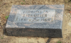 Caroline A <i>Scharf</i> Birkmeier