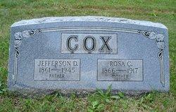 Jefferson D. Cox
