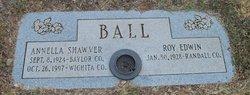 Annella <i>Shawver</i> Ball