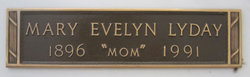 Mary Evelyn <i>Wilson</i> Lyday