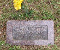 Pearl Lee Watie