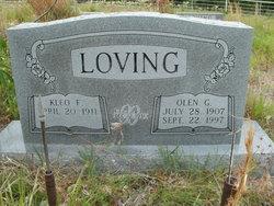 Mrs Kleo Fay <i>Stewart</i> Loving