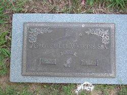 Grover Lee Watkins, Sr