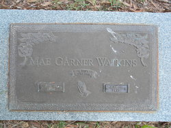 Flossie Mae <i>Garner</i> Watkins