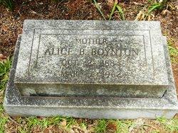 Mary Alice <i>Buie</i> Boynton