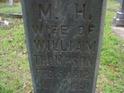 Mahala H. <i>Foster</i> Thompson