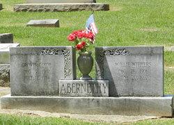 Willie <i>Withers</i> Abernethy