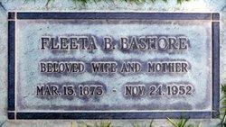 Fleeta <i>Bosler</i> Bashore