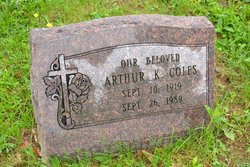 Arthur K Coles