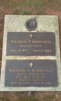 Mildred Virginia <i>Crabtree</i> Berryhill