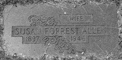 Susan <i>Forrest</i> Allen