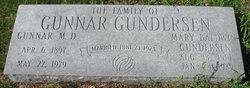 Mary <i>Baldwin</i> Gundersen
