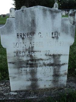 Ernest G Allen