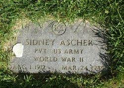 Sidney Ascher