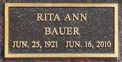 Rita Ann Snookie <i>Deutsch</i> Bauer