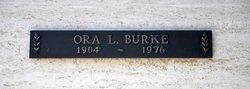 Ora L. Burke