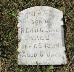 Infant Son Cline