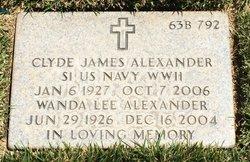 Clyde James Alexander