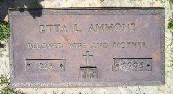 Etta Lois <i>Hayes</i> Ammons