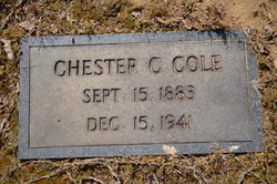 Chester Cecil Cole