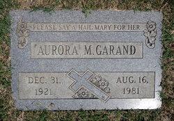 Aurora M Garand